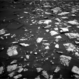 Nasa's Mars rover Curiosity acquired this image using its Left Navigation Camera on Sol 1584, at drive 1614, site number 60