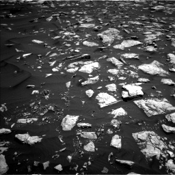 Nasa's Mars rover Curiosity acquired this image using its Left Navigation Camera on Sol 1584, at drive 1620, site number 60