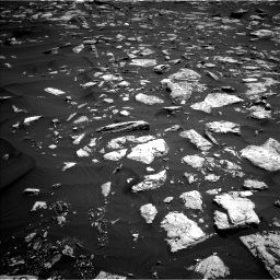 Nasa's Mars rover Curiosity acquired this image using its Left Navigation Camera on Sol 1584, at drive 1626, site number 60