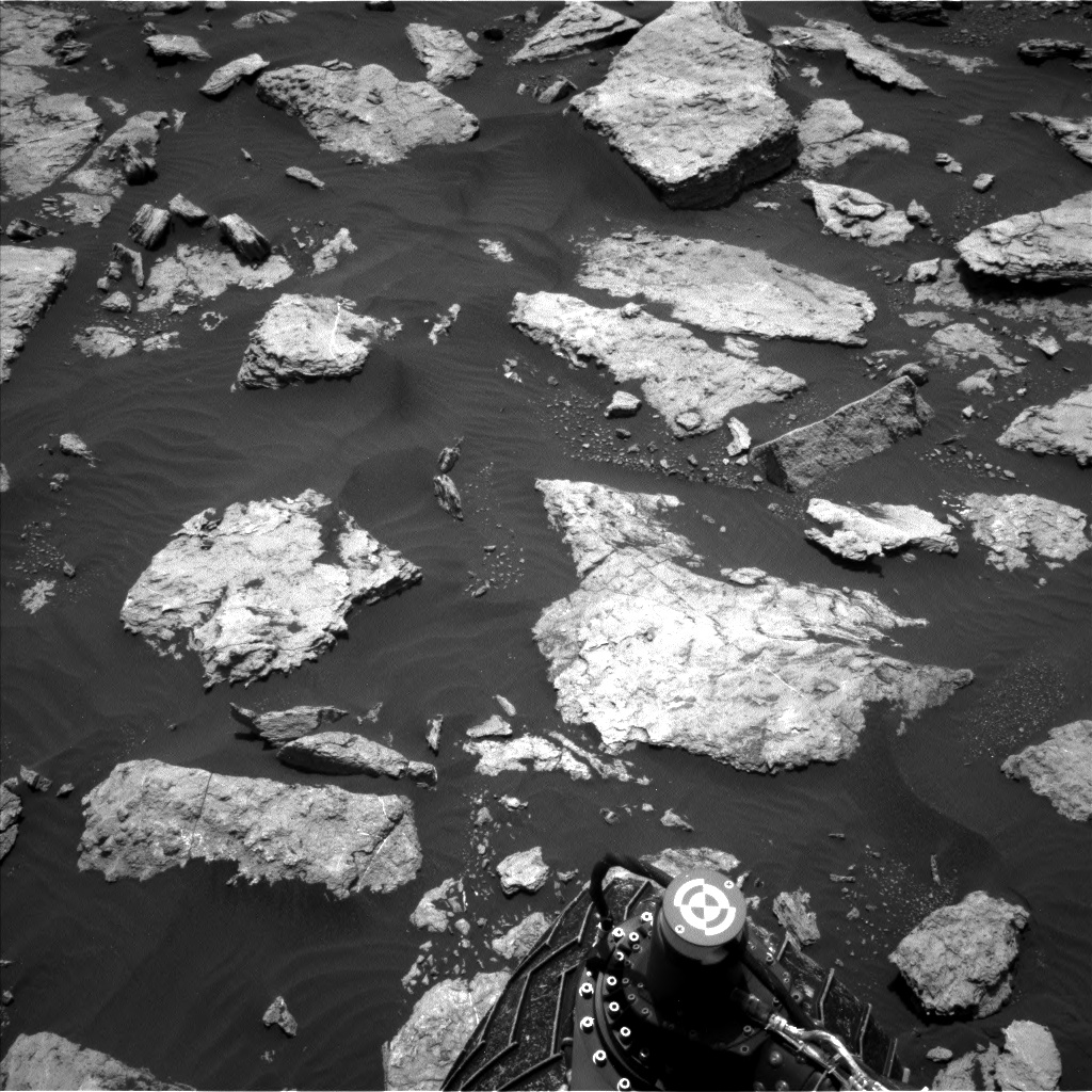 Nasa's Mars rover Curiosity acquired this image using its Left Navigation Camera on Sol 1584, at drive 1650, site number 60