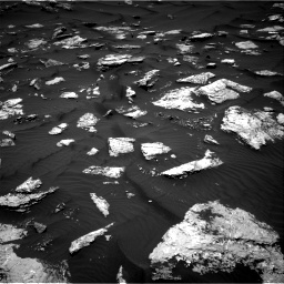 Nasa's Mars rover Curiosity acquired this image using its Right Navigation Camera on Sol 1584, at drive 1440, site number 60