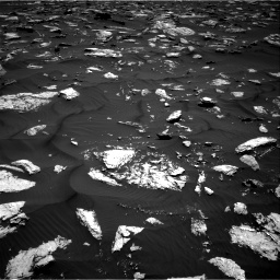 Nasa's Mars rover Curiosity acquired this image using its Right Navigation Camera on Sol 1584, at drive 1458, site number 60