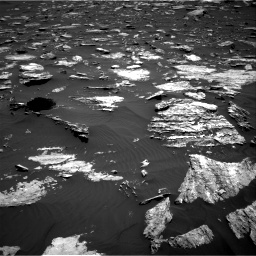 Nasa's Mars rover Curiosity acquired this image using its Right Navigation Camera on Sol 1584, at drive 1518, site number 60
