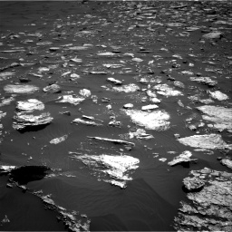 Nasa's Mars rover Curiosity acquired this image using its Right Navigation Camera on Sol 1584, at drive 1530, site number 60
