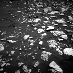 Nasa's Mars rover Curiosity acquired this image using its Right Navigation Camera on Sol 1584, at drive 1614, site number 60