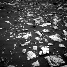 NASA's Mars rover Curiosity acquired this image using its Right Navigation Cameras (Navcams) on Sol 1584