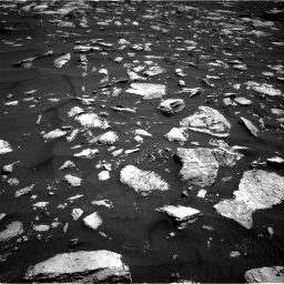 Nasa's Mars rover Curiosity acquired this image using its Right Navigation Camera on Sol 1584, at drive 1644, site number 60
