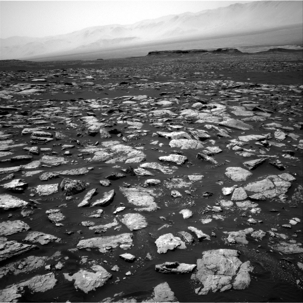 Nasa's Mars rover Curiosity acquired this image using its Right Navigation Camera on Sol 1584, at drive 1650, site number 60