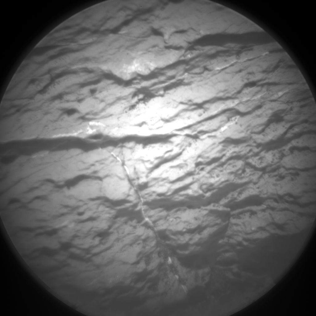 Nasa's Mars rover Curiosity acquired this image using its Chemistry & Camera (ChemCam) on Sol 1585, at drive 1650, site number 60