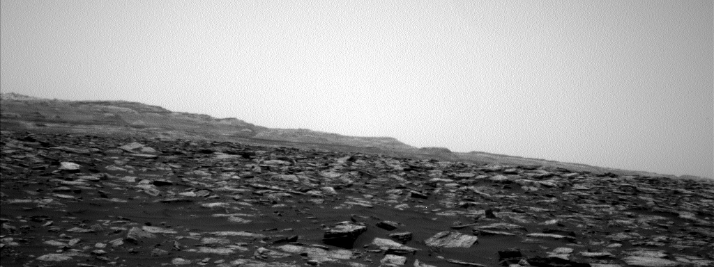 Nasa's Mars rover Curiosity acquired this image using its Left Navigation Camera on Sol 1585, at drive 1650, site number 60