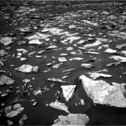 Nasa's Mars rover Curiosity acquired this image using its Left Navigation Camera on Sol 1585, at drive 1680, site number 60