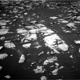 Nasa's Mars rover Curiosity acquired this image using its Left Navigation Camera on Sol 1585, at drive 1716, site number 60