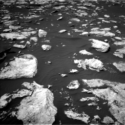 Nasa's Mars rover Curiosity acquired this image using its Left Navigation Camera on Sol 1585, at drive 1746, site number 60