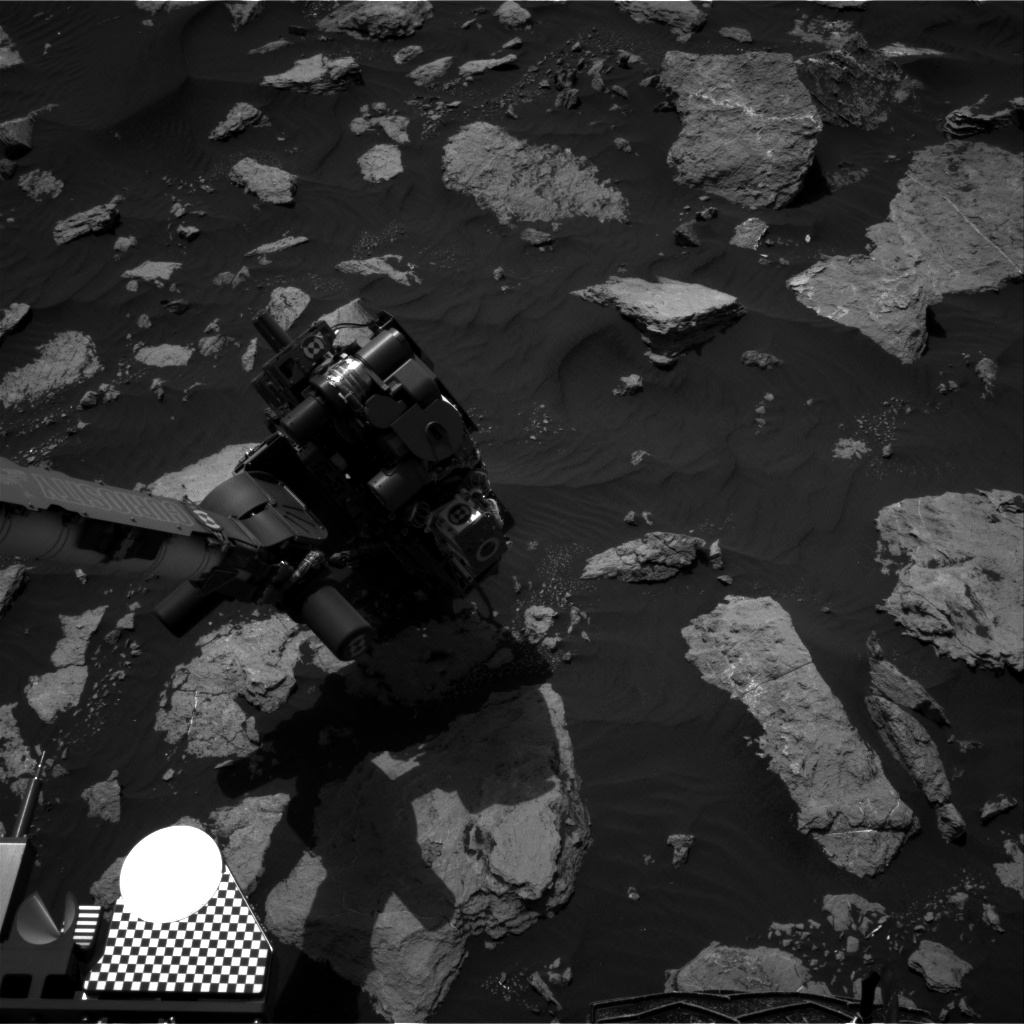 Nasa's Mars rover Curiosity acquired this image using its Right Navigation Camera on Sol 1585, at drive 1650, site number 60