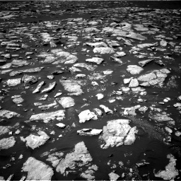 Nasa's Mars rover Curiosity acquired this image using its Right Navigation Camera on Sol 1585, at drive 1656, site number 60