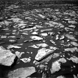 Nasa's Mars rover Curiosity acquired this image using its Right Navigation Camera on Sol 1585, at drive 1668, site number 60