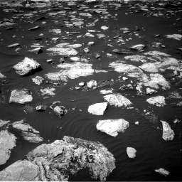 Nasa's Mars rover Curiosity acquired this image using its Right Navigation Camera on Sol 1585, at drive 1728, site number 60