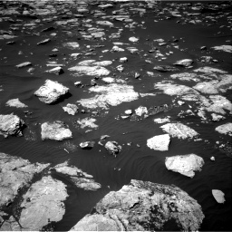 Nasa's Mars rover Curiosity acquired this image using its Right Navigation Camera on Sol 1585, at drive 1734, site number 60