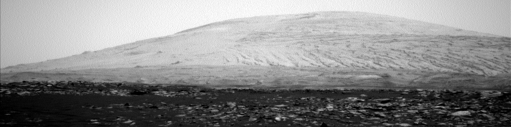 Nasa's Mars rover Curiosity acquired this image using its Left Navigation Camera on Sol 1587, at drive 1752, site number 60