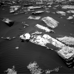 Nasa's Mars rover Curiosity acquired this image using its Left Navigation Camera on Sol 1587, at drive 1788, site number 60