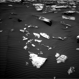 Nasa's Mars rover Curiosity acquired this image using its Left Navigation Camera on Sol 1587, at drive 1800, site number 60