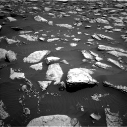 Nasa's Mars rover Curiosity acquired this image using its Left Navigation Camera on Sol 1587, at drive 1884, site number 60