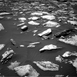 Nasa's Mars rover Curiosity acquired this image using its Right Navigation Camera on Sol 1587, at drive 1764, site number 60