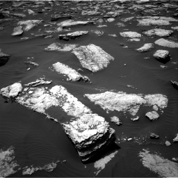 Nasa's Mars rover Curiosity acquired this image using its Right Navigation Camera on Sol 1587, at drive 1782, site number 60