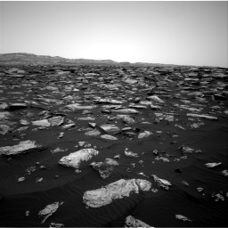 Nasa's Mars rover Curiosity acquired this image using its Right Navigation Camera on Sol 1587, at drive 1806, site number 60