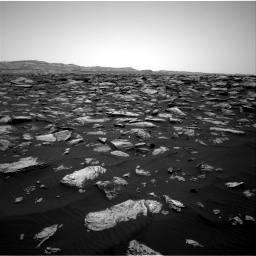 Nasa's Mars rover Curiosity acquired this image using its Right Navigation Camera on Sol 1587, at drive 1812, site number 60