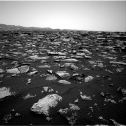 Nasa's Mars rover Curiosity acquired this image using its Right Navigation Camera on Sol 1587, at drive 1824, site number 60