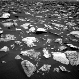 Nasa's Mars rover Curiosity acquired this image using its Right Navigation Camera on Sol 1587, at drive 1866, site number 60