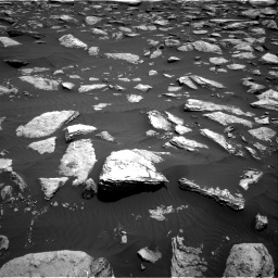 Nasa's Mars rover Curiosity acquired this image using its Right Navigation Camera on Sol 1587, at drive 1884, site number 60