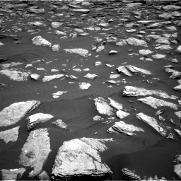 Nasa's Mars rover Curiosity acquired this image using its Right Navigation Camera on Sol 1587, at drive 1890, site number 60
