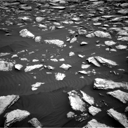 Nasa's Mars rover Curiosity acquired this image using its Right Navigation Camera on Sol 1587, at drive 1896, site number 60