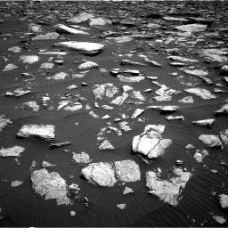 Nasa's Mars rover Curiosity acquired this image using its Right Navigation Camera on Sol 1587, at drive 1944, site number 60