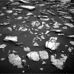 Nasa's Mars rover Curiosity acquired this image using its Right Navigation Camera on Sol 1587, at drive 1950, site number 60