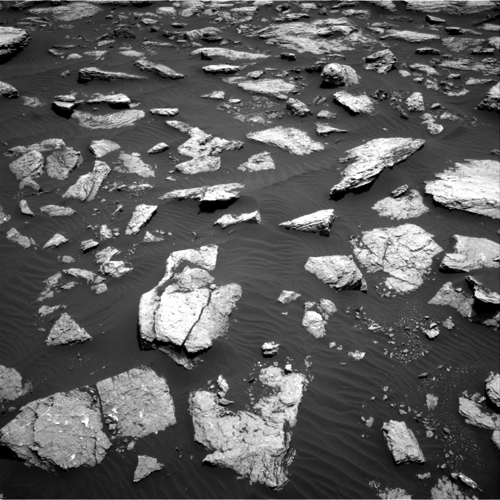 Nasa's Mars rover Curiosity acquired this image using its Right Navigation Camera on Sol 1587, at drive 1968, site number 60