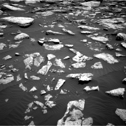 Nasa's Mars rover Curiosity acquired this image using its Right Navigation Camera on Sol 1587, at drive 1974, site number 60
