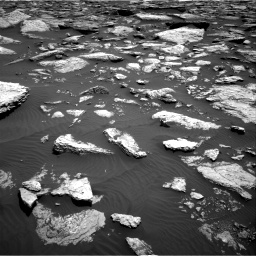 Nasa's Mars rover Curiosity acquired this image using its Right Navigation Camera on Sol 1587, at drive 1992, site number 60