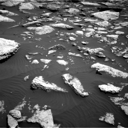 Nasa's Mars rover Curiosity acquired this image using its Right Navigation Camera on Sol 1587, at drive 1998, site number 60