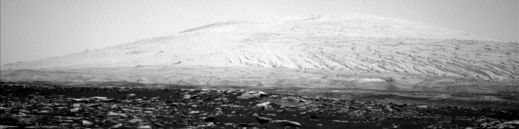 Nasa's Mars rover Curiosity acquired this image using its Left Navigation Camera on Sol 1588, at drive 2010, site number 60