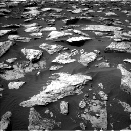 Nasa's Mars rover Curiosity acquired this image using its Left Navigation Camera on Sol 1589, at drive 2046, site number 60