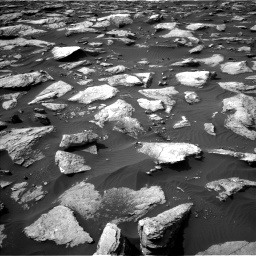 Nasa's Mars rover Curiosity acquired this image using its Left Navigation Camera on Sol 1589, at drive 2076, site number 60