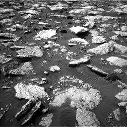 Nasa's Mars rover Curiosity acquired this image using its Left Navigation Camera on Sol 1589, at drive 2112, site number 60