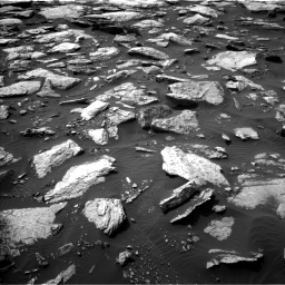 Nasa's Mars rover Curiosity acquired this image using its Left Navigation Camera on Sol 1589, at drive 2118, site number 60