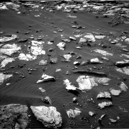 Nasa's Mars rover Curiosity acquired this image using its Left Navigation Camera on Sol 1589, at drive 2238, site number 60