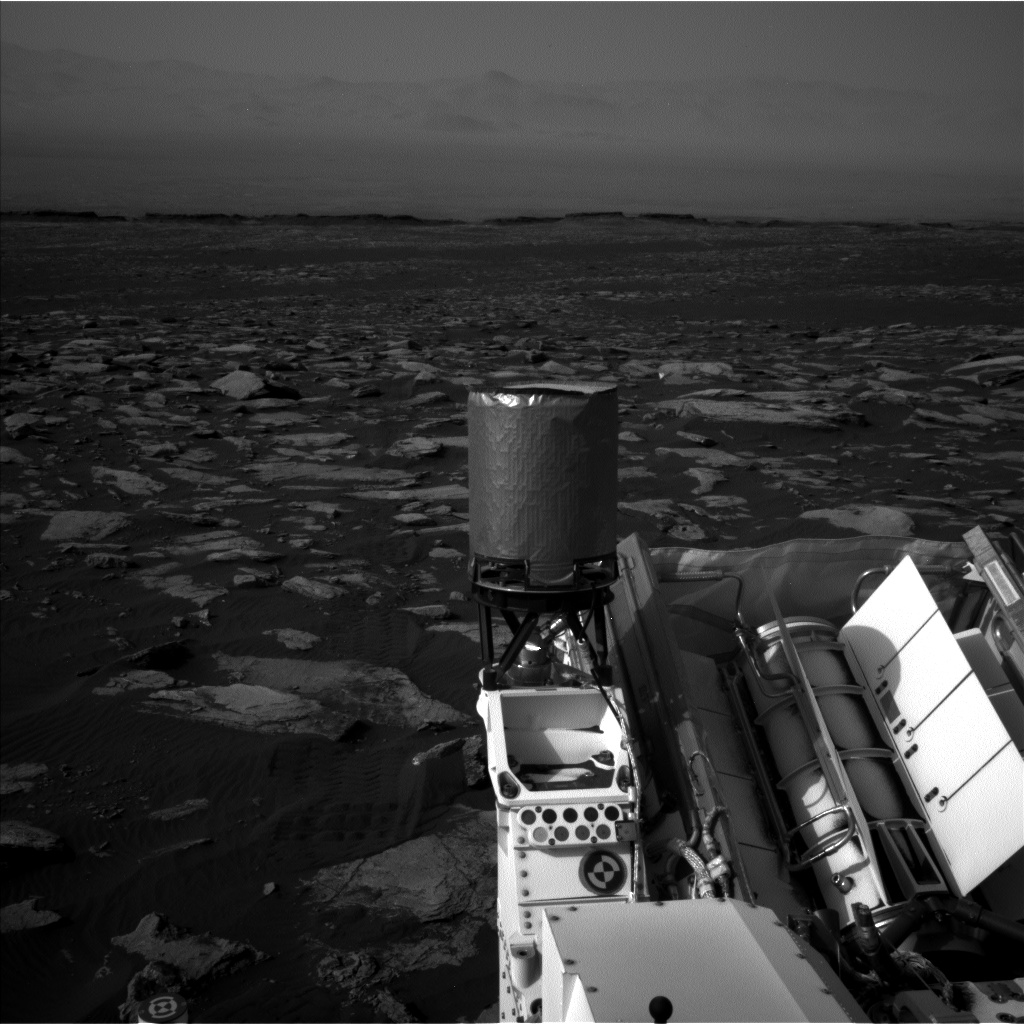 Nasa's Mars rover Curiosity acquired this image using its Left Navigation Camera on Sol 1589, at drive 2256, site number 60