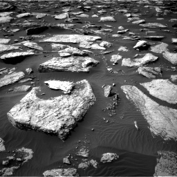 Nasa's Mars rover Curiosity acquired this image using its Right Navigation Camera on Sol 1589, at drive 2034, site number 60