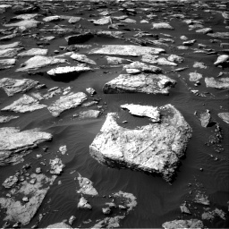 Nasa's Mars rover Curiosity acquired this image using its Right Navigation Camera on Sol 1589, at drive 2040, site number 60
